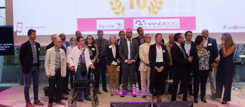 Photo trophée Handeco, handiformelles