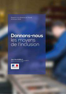 Rapport donnons-nous les moyens de l'inclusion
