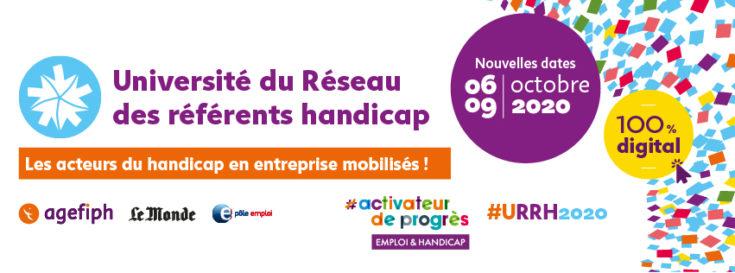 La 1ère Université du Réseau des Référents Handicap de l'Agefiph 100% digitale
