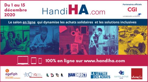 HandiHA, le salon des achats solidaires et les solutions inclusives, c'est demain !