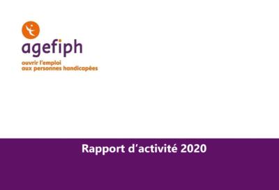 Rapport d'activité 2020 de l'Agefiph